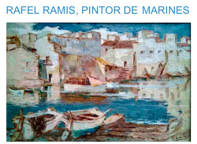 Collection de peintures et dessins de Rafel Ramis